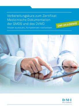 Vorbereitungskurs Medizinische Dokumentation | GMDS & DVMD